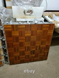 WOODEN PARQUET PORTABLE DANCE FLOOR Ideal For PARTY/WEDDING/EVENTS