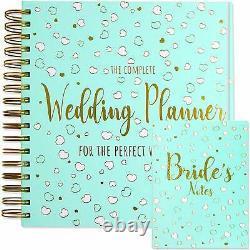 Wedding Planner and Notebook Luxury UK Brides Diary Organiser Engagement Gift
