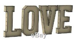 Y279 3ft HUGE LOVE LETTERS Wedding Party Engagement Event CANDY CART DONUT WALL