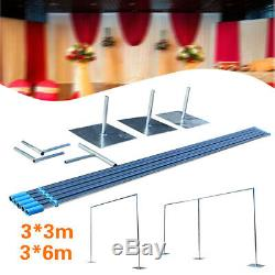 10 Pieds X 10 Pieds / 20 Pieds Photographie Backdrop Heavy Duty Contexte Kit Stand Mariage