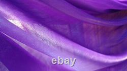 20x10ft Wedding Stage Décor Backdrop Party Drapes Avec Swag Silk Fabric Curtain