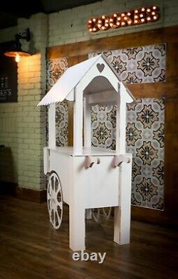 Candy Cart Sweet Stand Flatpacked Reinforced Cardboard Anniversaires Événements Mariages