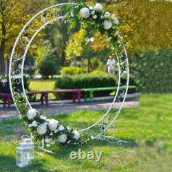 Circulaire Round Wedding Backdrop Stand Arch Framework Party Stand Metal Archway