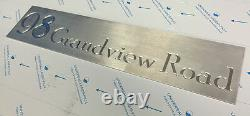 Maison Signe Laser Cut Stainless Steel Mailbox Architectural Custom Made