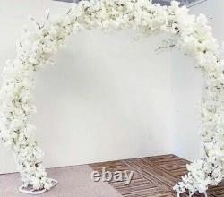 Mariage Arch Frame Metal Garland Fleur Backdrop Stand Moon Gate Events Party