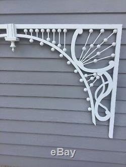 Victorian Fretwork Archway Gingerbread Art Nouveau Architectural