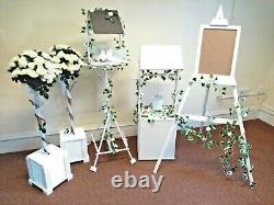 Wishing Well/bird Table/ Rose Bushes/easel Hire Only (not For Sale)- Hire005